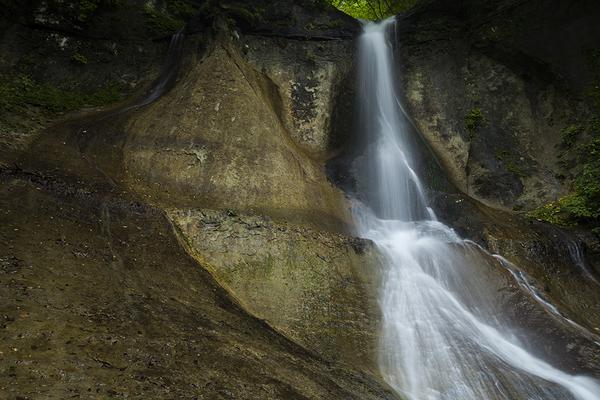 奇岩、下戸倉沢大滝