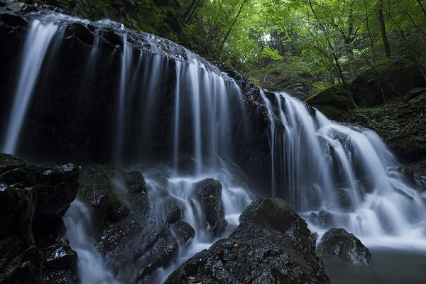 下戸倉沢の小滝