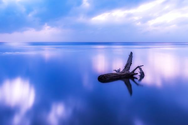 平砂浦の黄昏
